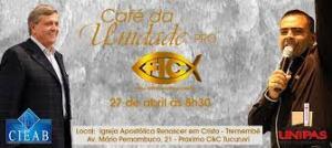 Outro evento reunindo os pastores para que apoiem a FIC. A manipulação apostólica é forte!
