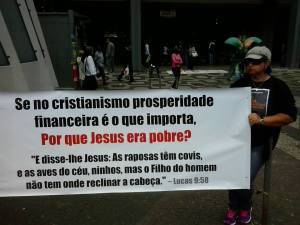 Manifestação no Rio de Janeiro comemorando o Dia da Reforma Protestante