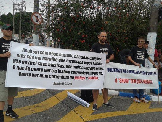Versículo para reflexão no Festival Promessas 2014 em Mauá, SP - que não mais será transmitido pela TV Globo.