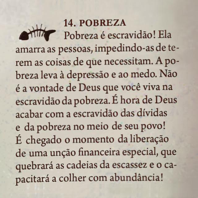 Ensino da Bíblia de Batalha Espiritual e Vitória Financeira, bíblia símbolo da Teologia da Prosperidade