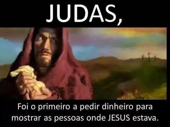 Por quanto você está comprando Jesus? (pois, se há quem o venda, é porque há quem o compre - a corrupção é uma via de mão dupla).