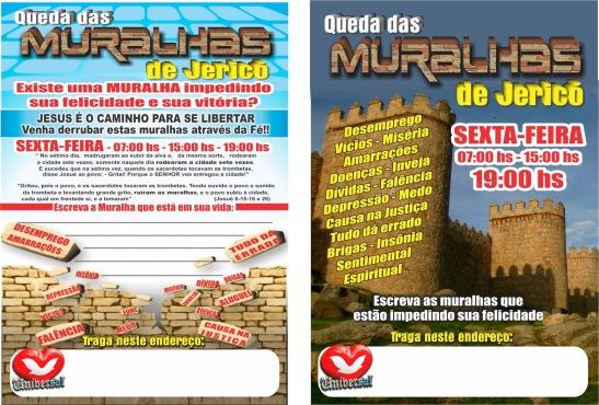 MURALHAS DE JERICÓ IURD